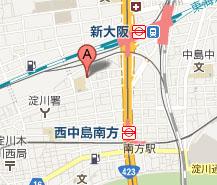 大阪アクセスマップ